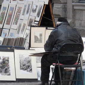 Street Artist by Bonnie Lea - People Street & Candids ( Travel, People, Lifestyle, Culture )