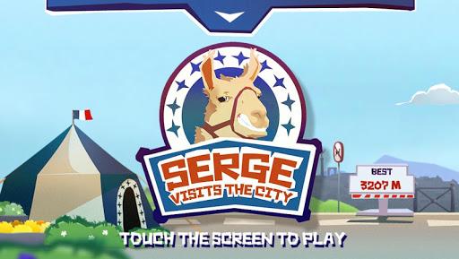 Serge visits the city