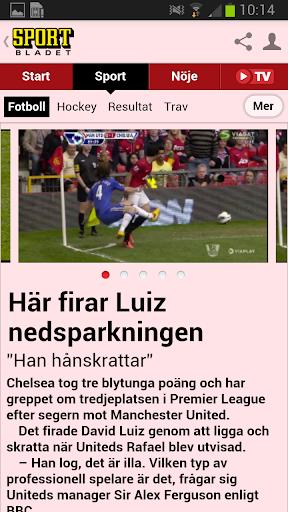 【免費運動App】Sportbladet-APP點子