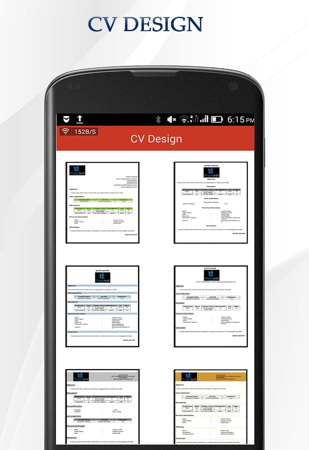 cv maker android apps on google play