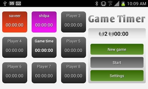 Game Timer- screenshot thumbnail