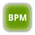 Tap display BPM counter logo