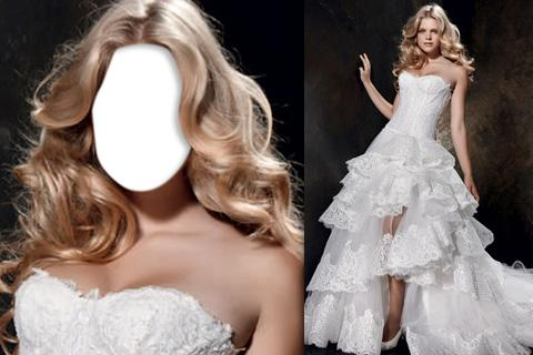 Wedding Dress Photo Frame