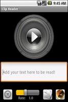 Screenshot of Clip Reader