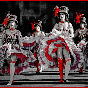 Can Can Red by José Sobral - News & Events Entertainment ( carnaval, 2012, josé sobral, red, white, pwc87 )