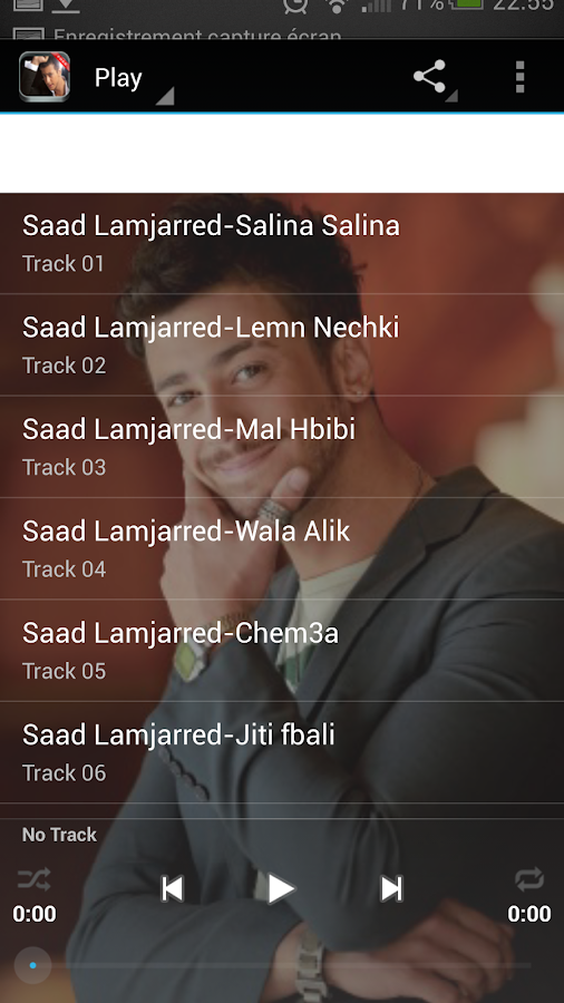 Saad Lamjarred Mp3 - screenshot