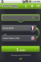 Screenshot of Convert 4 Me Money