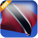 3D Trinidad & Tobago Flag LWP icon