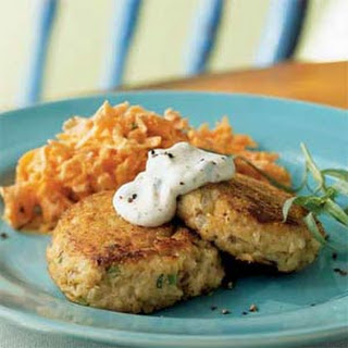 Salmon Croquettes with Rémoulade.