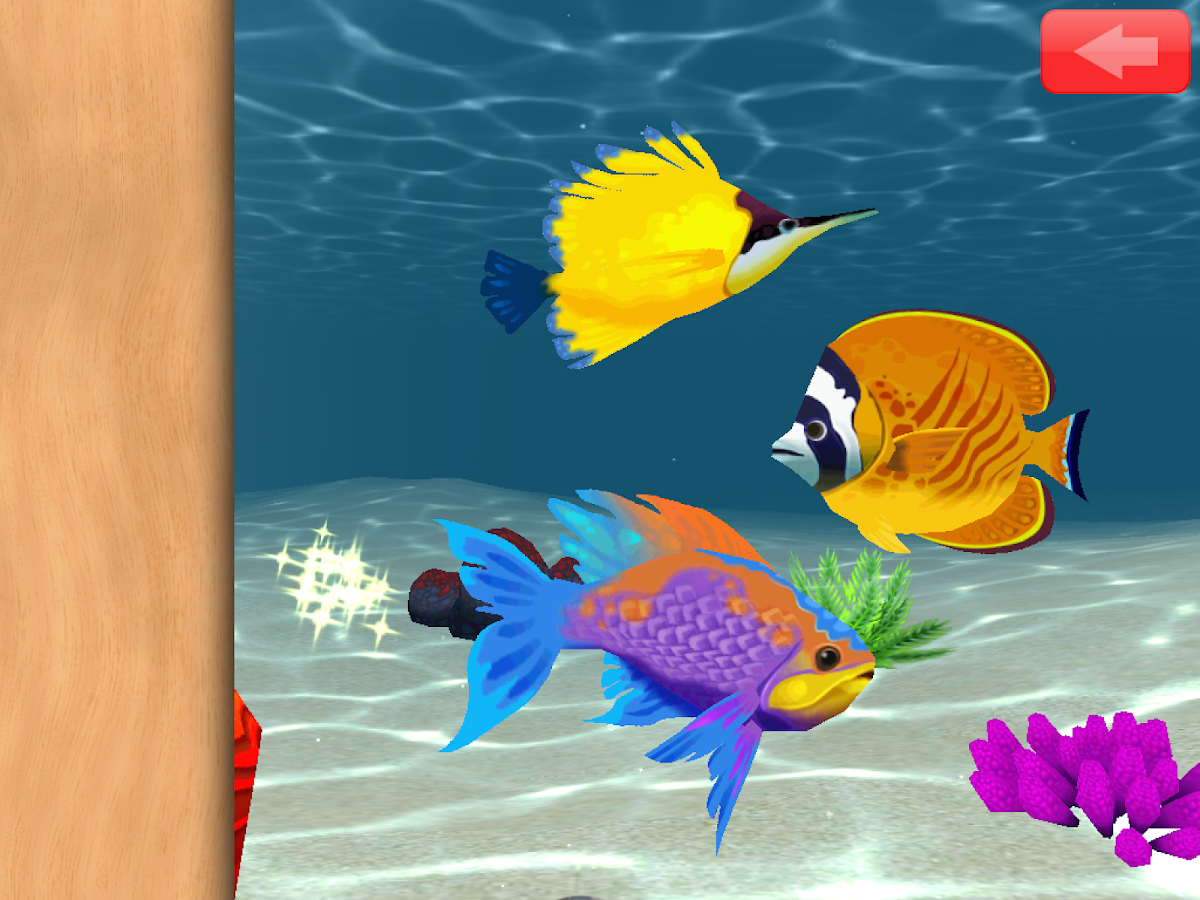 Animated Toddler Puzzles: Fish- screenshot