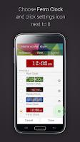 Screenshot of Ferro Clock for Gear Fit