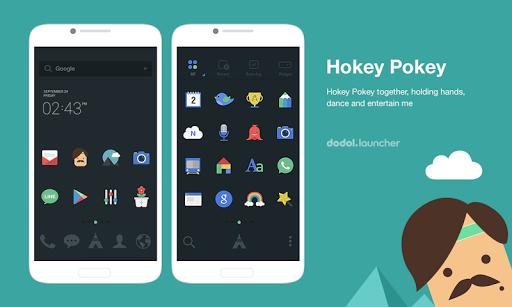 Hokey-pokey dodol theme