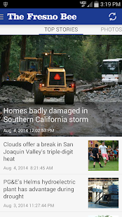 Fresno Bee newspaper- screenshot thumbnail