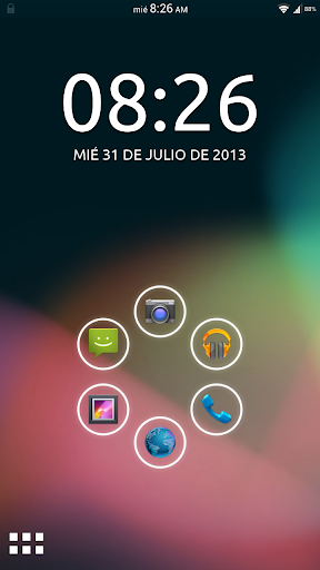 Theme ICS JB - Smart Launcher