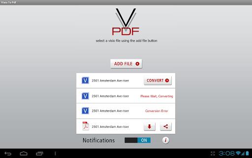 【免費商業App】Visio To PDF-APP點子