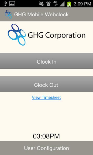 GHG Mobile Webclock