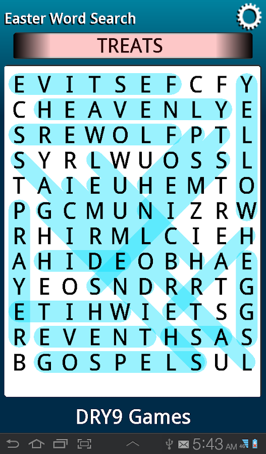 Easter Word Search- screenshot