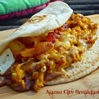 Alamo City Breakfast Tacos.