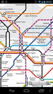 London Tube and Rail Map - screenshot thumbnail
