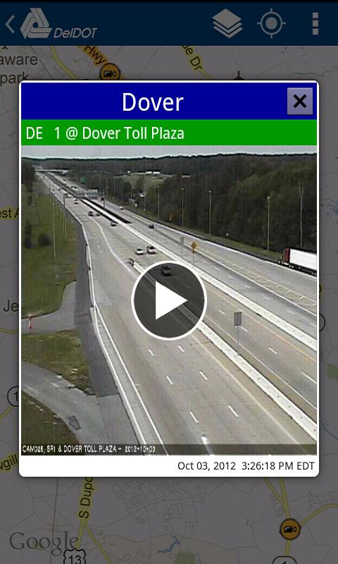 DelDOT - screenshot