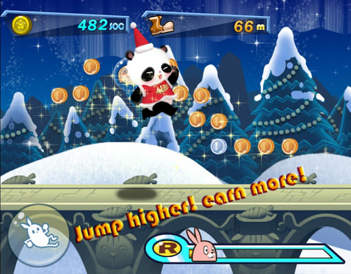 免費休閒App|聖誕熊貓運行|阿達玩APP