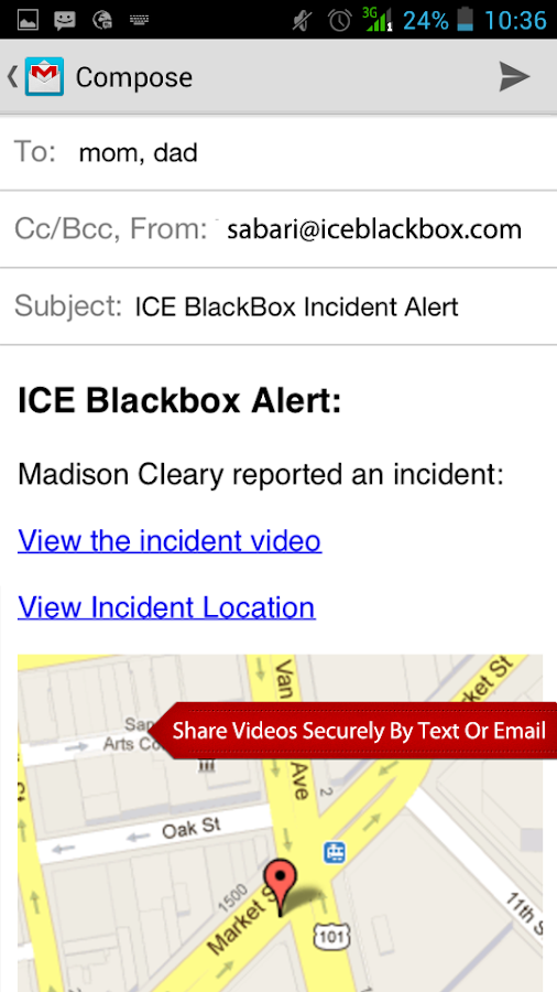 ICE BlackBox- screenshot
