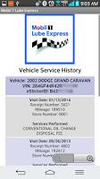 Screenshot of Mobil 1 Lube Express St. Kits