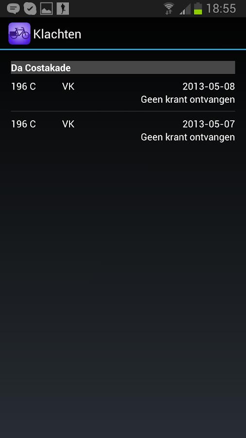 ikBezorg- screenshot