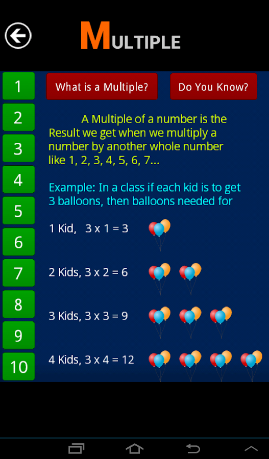 Number Play FREE - screenshot