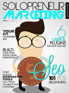 Solopreneur Marketing Magazine- screenshot thumbnail
