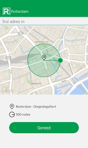 Screenshot 1 Rotterdam - OmgevingsAlert