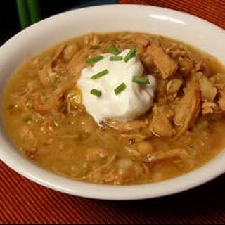 Slow Cooker Turkey and White Bean Chili.
