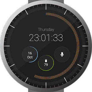 Pujie Black Watch Face Screenshot 34