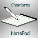 Chmbrs NotePad logo