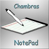 Chmbrs NotePad