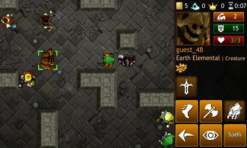Hero Mages- screenshot