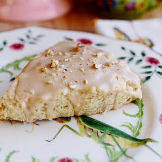Maple Oat Nut Scones.