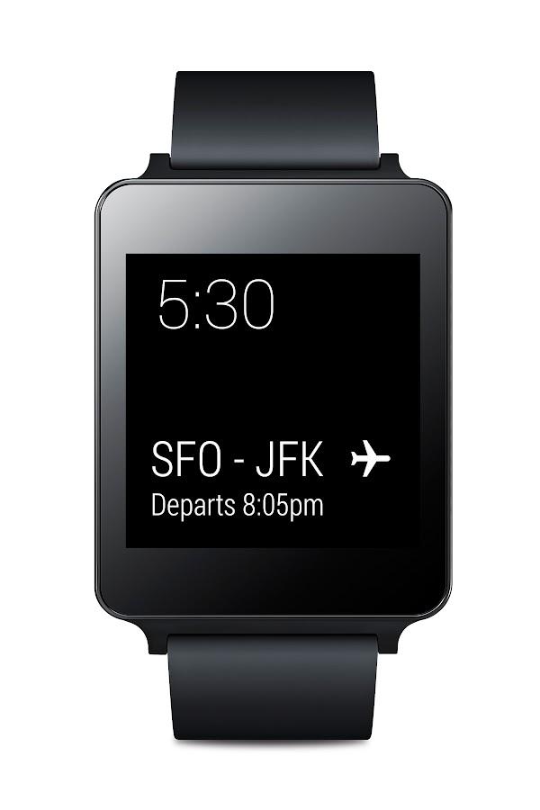 LG G Watch (Black Titan) - screenshot