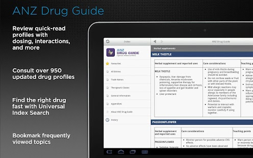 ANZ Drug Guide- screenshot thumbnail