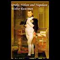 Drake, Nelson & Napoleon-Book logo