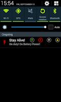 Screenshot of Stay Alive! Keep screen awake