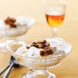 Wheat Berry Fools with Grand Marnier Figs.