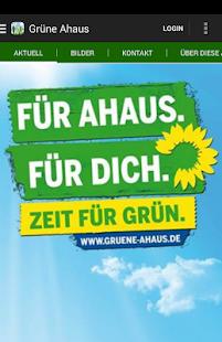 Bündnis 90/Die Grünen Ahaus - screenshot thumbnail