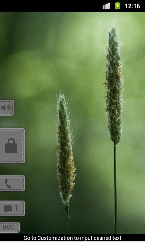 Pull Smoke - MagicLockerTheme - screenshot