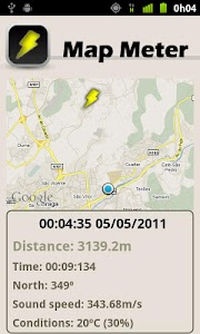Storm Meter Lite screenshot 1
