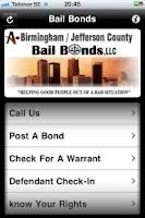 Screenshot of 205 Bail Bonds