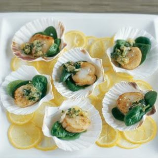 Sautéed Scallops with Meyer Lemon Relish