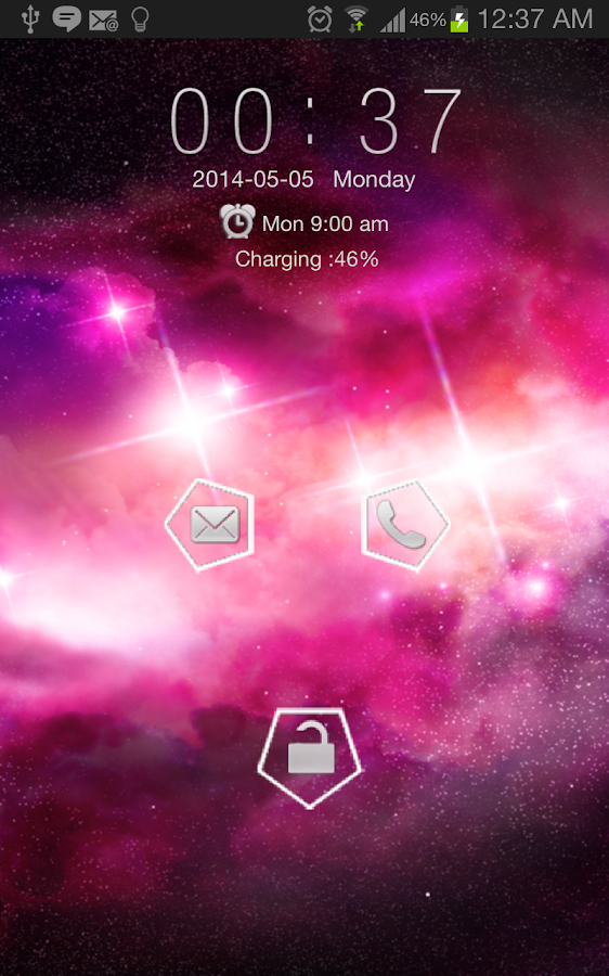 Galaxy Art Go Locker- screenshot