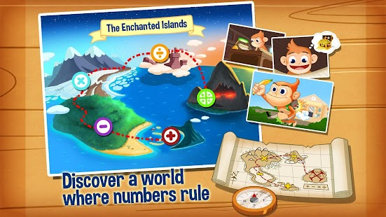 Monkey Math Free - Kids Games - screenshot thumbnail
