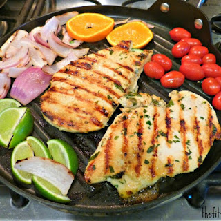 Healthy Grilling | Mojo Chicken Breast with Citrus